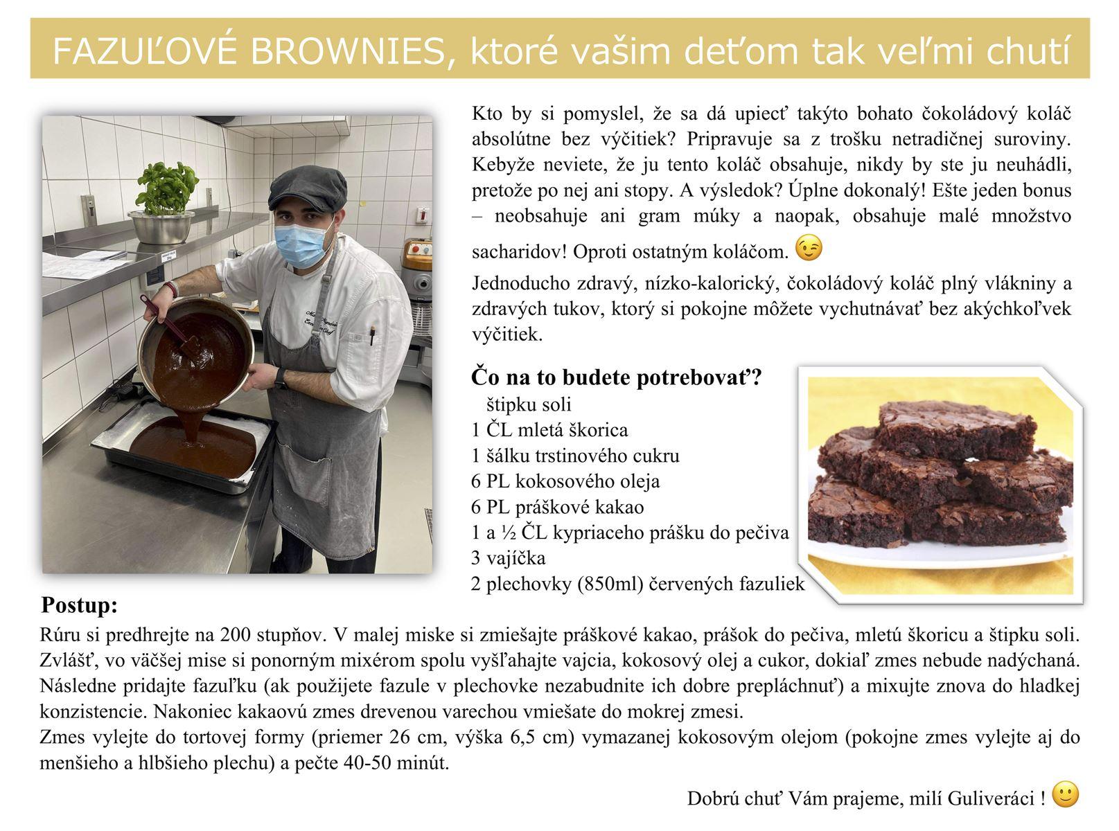 Fazuľové Brownies JPG